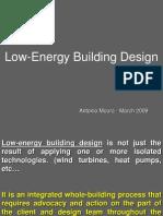 Low Energy Building Design [presentation]