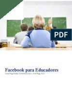 VI FEICIMAC. Facebook Para Educadores