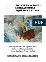 Programa Del Congreso de Catequesis Familiar 2014.