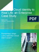 An Enterprise Case Study Cisco