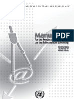 United Nations Manual for the Production of Statistics on the Information Economy 2009