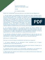Reglamento Coches Clasicos