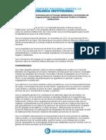 Declarar de Interés Municipal Para El Concejo Deliberantes y El Municipio de Concepción Del Uruguay Primera Campaña Nacional Contra La Violencia Institucional