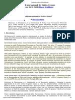 I Profili Internazionali Del Diritto d'Autore