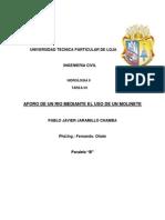 Deber de Hidrologia N1-Pablo Jaramillo