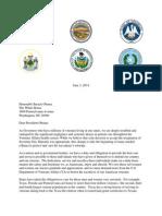 RGA VA Letter to President Obama