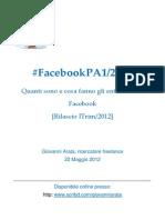 Facebook per la Pubblica Amministrazione 2012