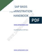 Sap Basis Administration Handbook