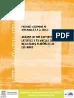 SERCE-Factores Asociados-Análisis de Factores Latentes