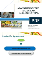 Administracion e Ingenieria Agro Industrial