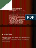 INSPEÇÃO Fabricacao