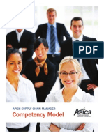 Supply Chain Manager Competency Model