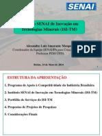 CONTEM 2014 -  Instituto SENAI de inovação em tecnologias minerais