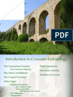 Introduction to Covenant Eschatology