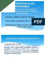 Derecho Administrativo Exposicion