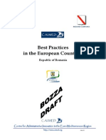 Best Practices in the European Countries - Republic of Romania