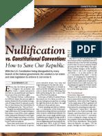 Nullification vs Con-Con