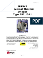 User Manual IRISYS Universal Thermal Imager Type IRI 1011
