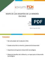 Mapa de Los Desafios de La Mineria en Chile