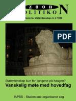 Zoon Politikon 1999/2