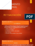 Fundamento Doctrinal (Resúmen 1-8)