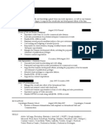 Resume 2014 Critique