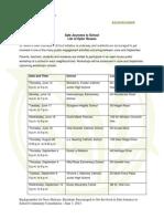 2014-June-3-Backgrounder - Safe Journeys to School List of Open Houses