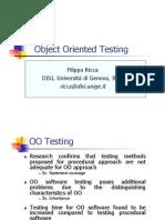 Testing 5 OO