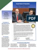 2014 Dibble Hornstein End of Session Newsletter