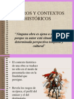 Géneros y Contextos Históricos