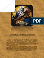The Yahu'ah Sabaoth Scriptures