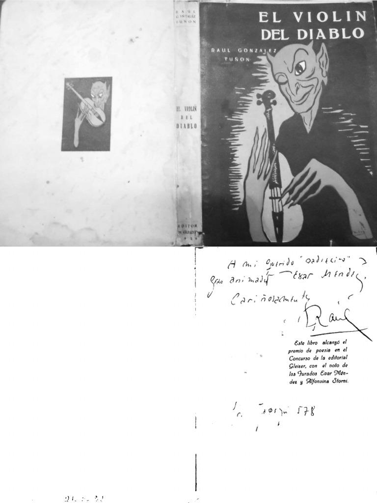Gonzalez Tuñon Raul - El Violin Del Diablo (Blanco y Negro