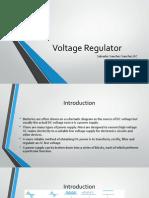 Voltaje Regulator