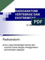 Radioanatomi Vertebrae Dan Ekstremitas