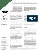Right to Farm Factsheet From American Farmland Trust