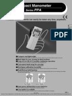 Manual Manomentru Digital