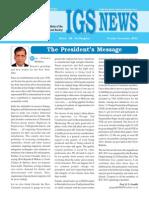 IGS News Oct-Dec. 2013