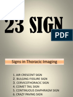 Sign Thorax