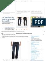 Tipos Pantalon