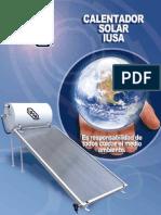 Catalogo Calentador Solar