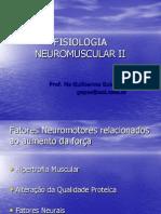 Fisiologia Neuro Muscular