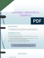 Leucemia Linfocitica Cronica