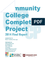 Community College Completion Project