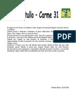 Catullo - Carme 31 Analisi Della Poesia