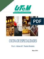 Cocina de Especialidades 2014 Miercoles