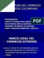 Estructura Del Comercio Exterior Colombiano