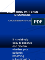 Breathing Patteren Disorders