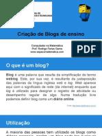 Comp. na Matemática - Aula 10 - Criação de Blog.pdf