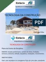 Aulas de Tecnologia Da Construção