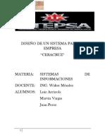 EJERCICIO - DISEÑO DE UN SISTEMA PARA LA EMPRESA.docx